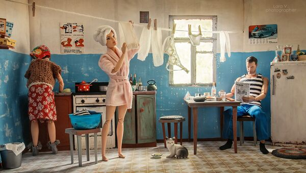 Barbie et Ken dans un appartement communautaire soviétique, comme si vous y étiez! - Sputnik France