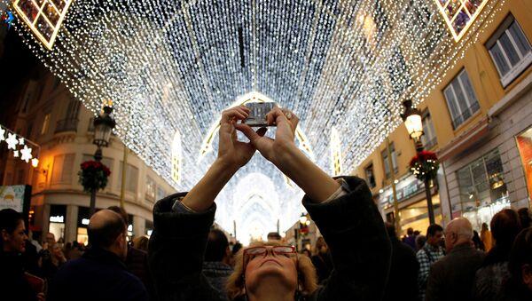 Les préparatifs des fêtes du Nouvel An et de Noël dans les différents pays - Sputnik France