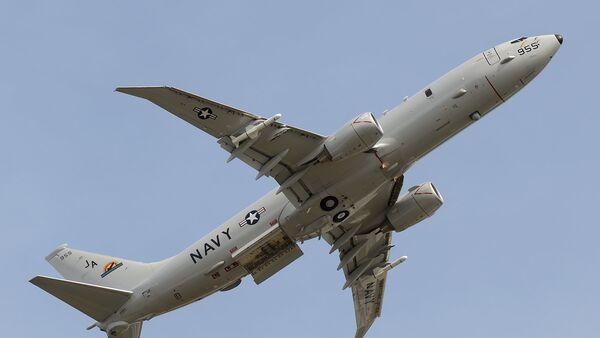 Un avion espion P-8A Poseidon. Image d'archive  - Sputnik France