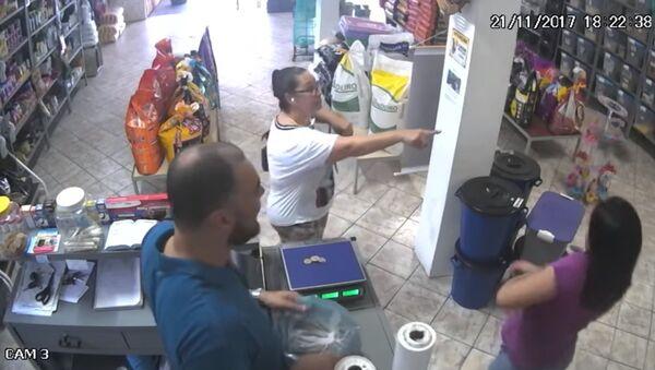 Un voleur inattendu au Brésil - Sputnik France