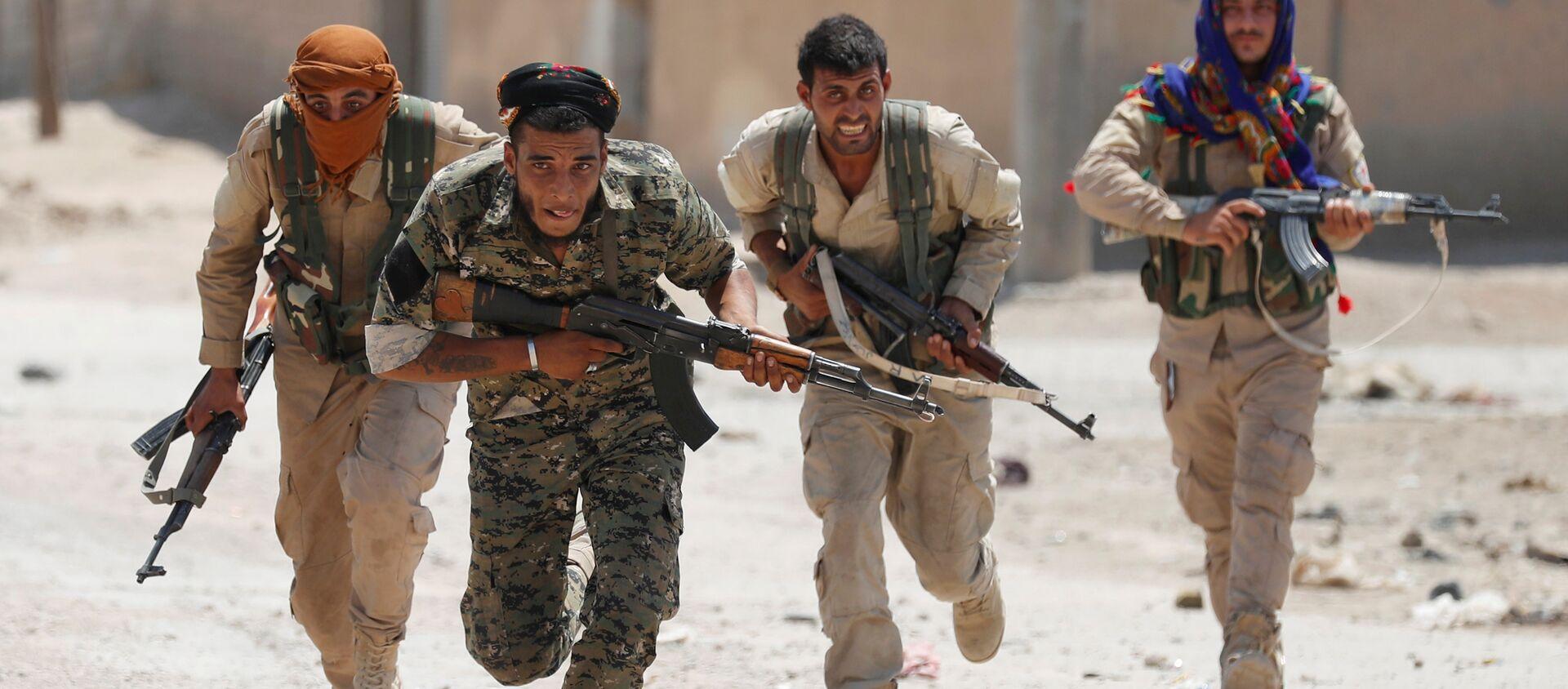 Milices kurdes  - Sputnik France, 1920, 21.07.2021