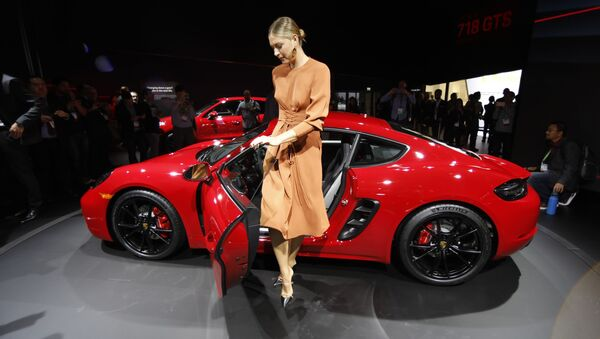 «Los premieros»: les nouveautés du Salon automobile californien - Sputnik France