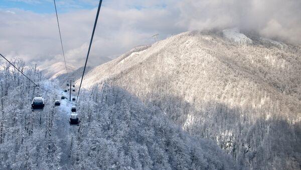 Зимний сезон открылся на горнолыжном курорте Роза Хутор в Сочи - Sputnik France
