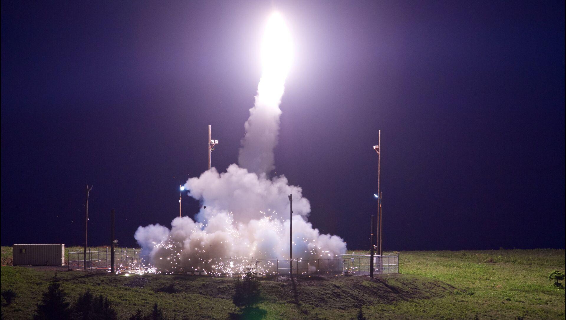 Le test du système antimissile américain THAAD en Alaska - Sputnik France, 1920, 28.07.2021