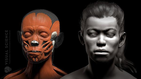 Реконструкция внешности человека древнего охотничьего лагеря Сунгирь в формате 3D VR-анимации - Sputnik France