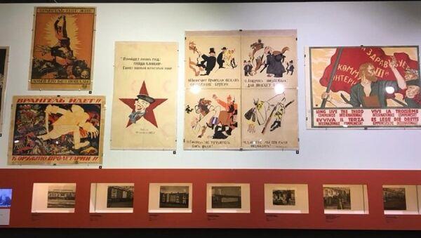 Exposition Trains de propagande - Sputnik France