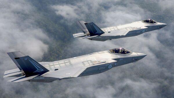 Deux chausseurs F-35 - Sputnik France