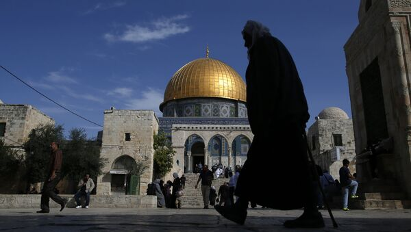 La mosquée Al-Aqsa et le dôme du Rocher à Jérusalem - Sputnik France