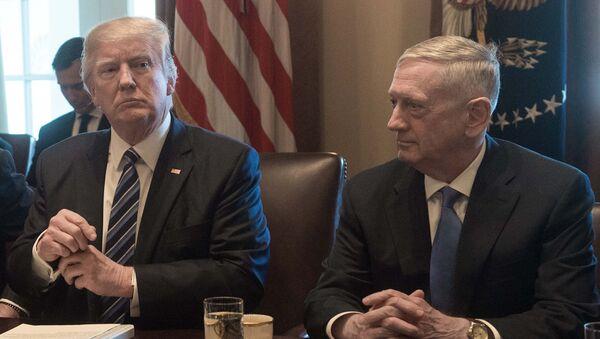 Donald Trump et James Mattis - Sputnik France