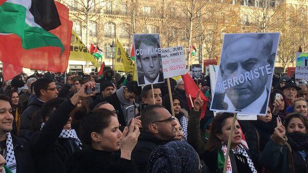 Manifestations à Paris sur fond de décision de Trump sur Jérusalem - Sputnik France