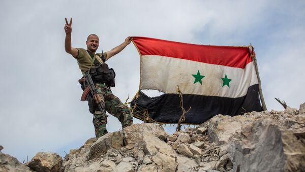Un soldat syrien - Sputnik France