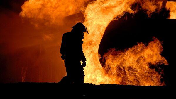 Un pompier - Sputnik France