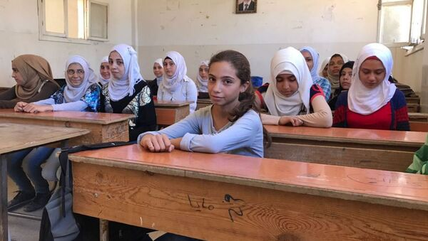 étudiants syriens - Sputnik France