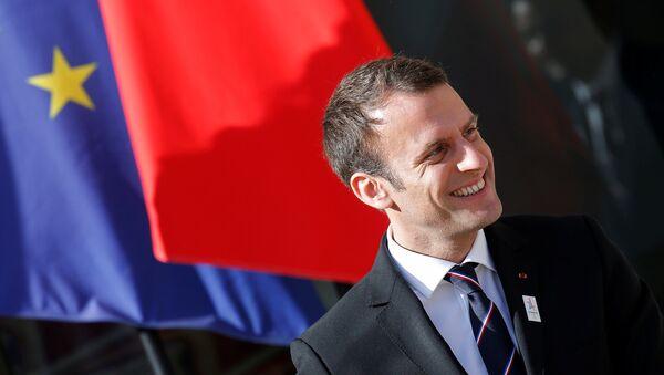 Frankreichs Staatspräsident Emmanuel Macron - Sputnik France