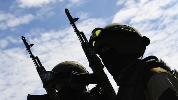 Militaires de la Garde nationale russe - Sputnik France