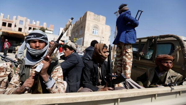 Des rebelles Houtnis à Sanaa - Sputnik France