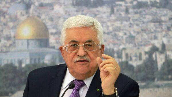 Le chef de l'Autorité palestinienne Mahmoud Abbas se rend à Moscou - Sputnik France