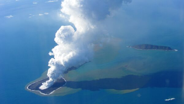 L'île Hunga Tonga-Hunga Ha'apai dans le Pacifique - Sputnik France