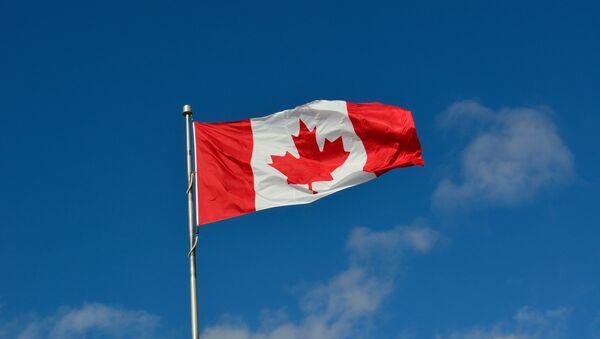 Bandera de Canadá - Sputnik France