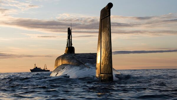 Le sous-marin nucléaire Iouri Dolgorouki - Sputnik France