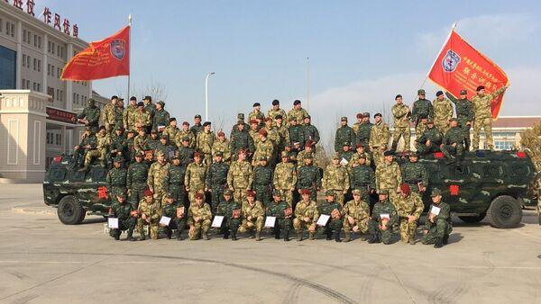 Manœuvres antiterroristes russo-chinoises - Sputnik France