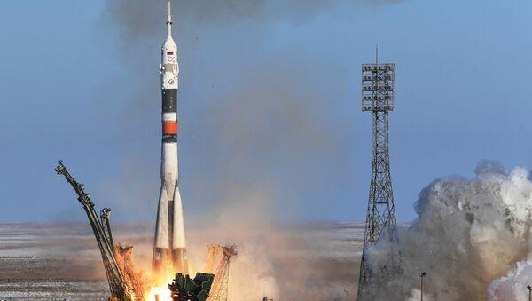Une fusée Soyouz - Sputnik France