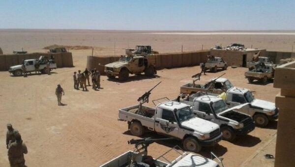 La base américaine située près d'Al-Tanf en Syrie (archive photo) - Sputnik France