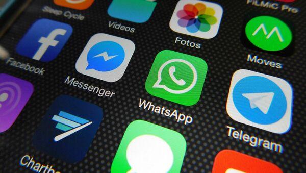 Aplicaciones de Whatsapp, Facebook Messenger, Telegram - Sputnik France
