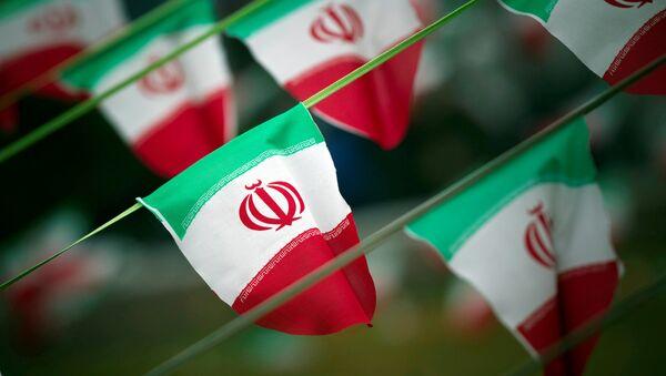 Des drapeaux de l'Iran - Sputnik France