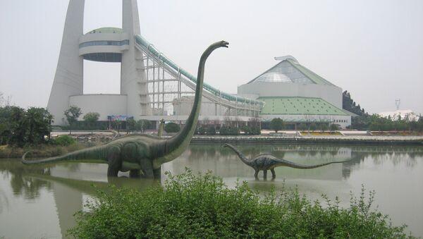 Dans la ville de Zhengzhou, on peut même chasser des dinosaures - Sputnik France