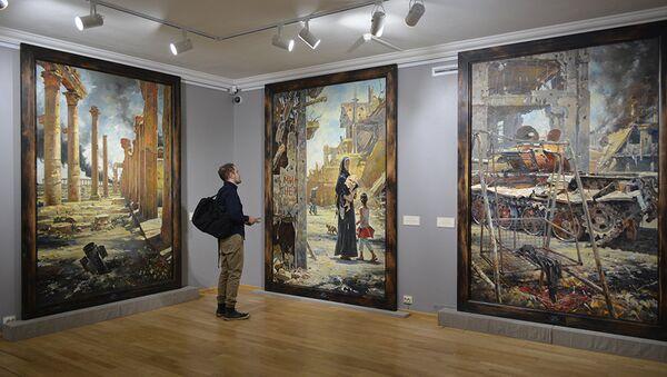 Exposition de Vassili Nesterneko - Sputnik France
