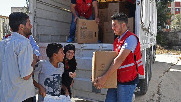 Aides humanitaires, Syrie - Sputnik France