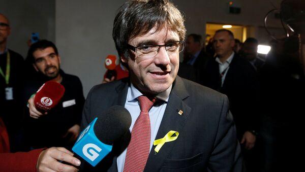 Carles Puigdemont, el presidente del Gobierno catalán cesado - Sputnik France