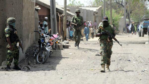 Une ville de l'Etat de Borno, au Nigéria - Sputnik France