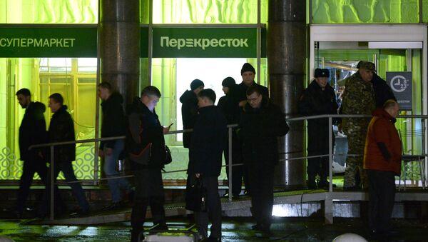 Взрыв в магазине Перекресток в Санкт-Петербурге - Sputnik France
