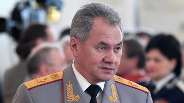 Le ministre russe de la Défense Sergueï Choïgou - Sputnik France