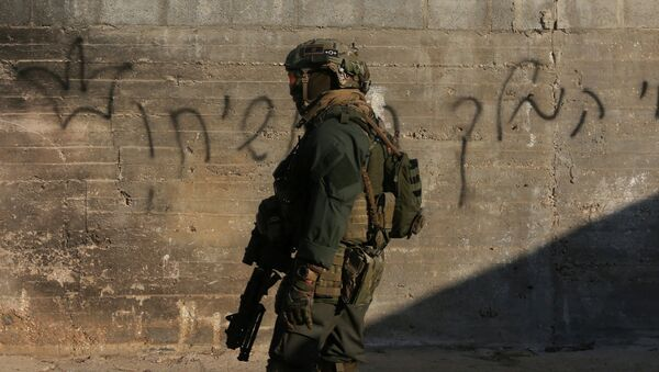 Militar israelí en Cisjordania (archivo) - Sputnik France