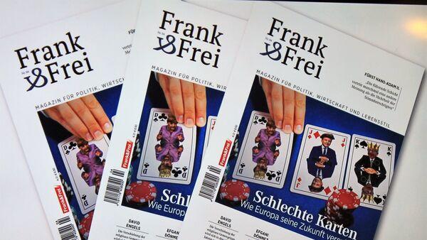 "revue ""Frank&Frei"" - Sputnik France"