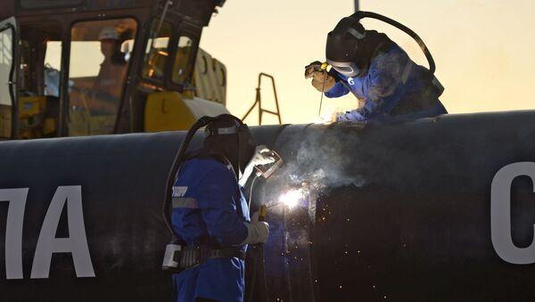 La construction du gazoduc Force de Sibérie - Sputnik France