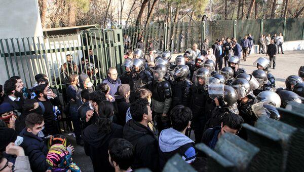 Iran,  protestation - Sputnik France