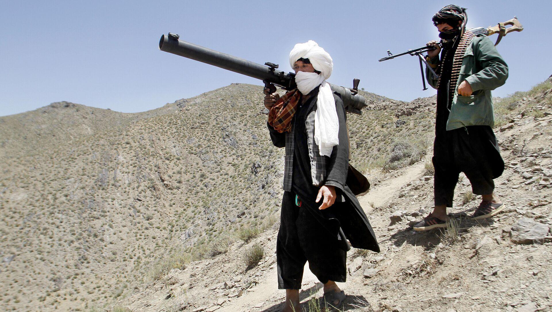 Des talibans en Afghanistan - Sputnik France, 1920, 16.08.2021