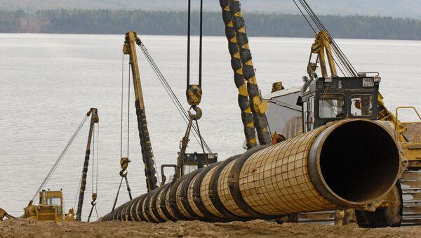 La construction de l'oléoduc «Sibérie orientale-océan Pacifique» - Sputnik France