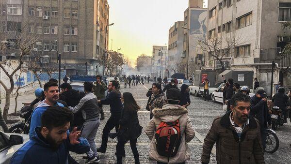 Protestations à Téhéran, décembre 2017 - Sputnik France