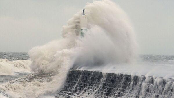 La tempête Eleanor - Sputnik France