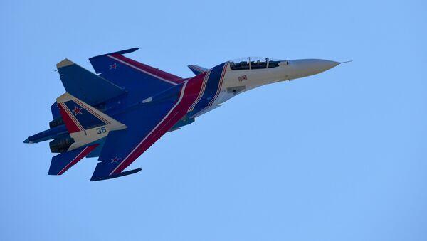 Un caza Su-30SM, foto de archivo - Sputnik France