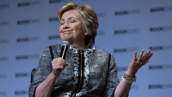 Ex-US-Außenministerium Hillary Clinton  - Sputnik France