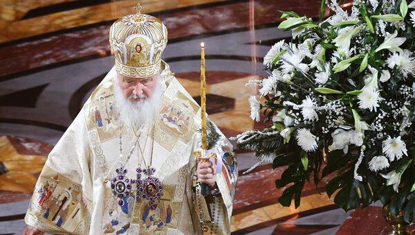 Le Patriarche de Moscou et de Toutes les Russies Cyrillelle - Sputnik France