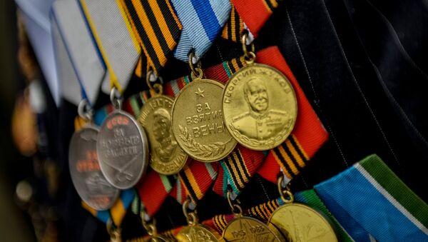 Médailles d'un vétéran de la Seconde Guerre mondiale - Sputnik France