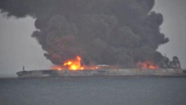 collision des navires au large de la Chine - Sputnik France