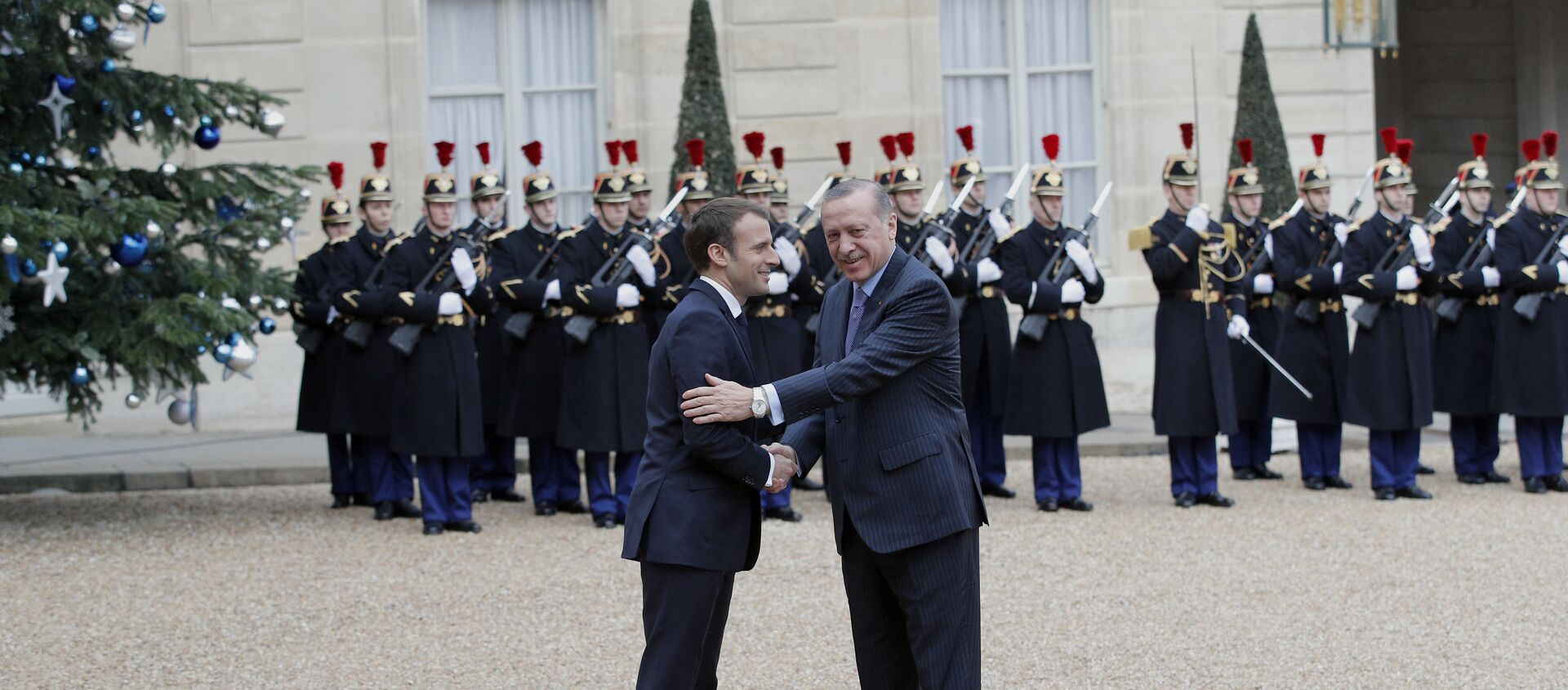 Emmanuel Macron et  le Président turc, M.Erdogan - Sputnik France, 1920, 07.06.2021